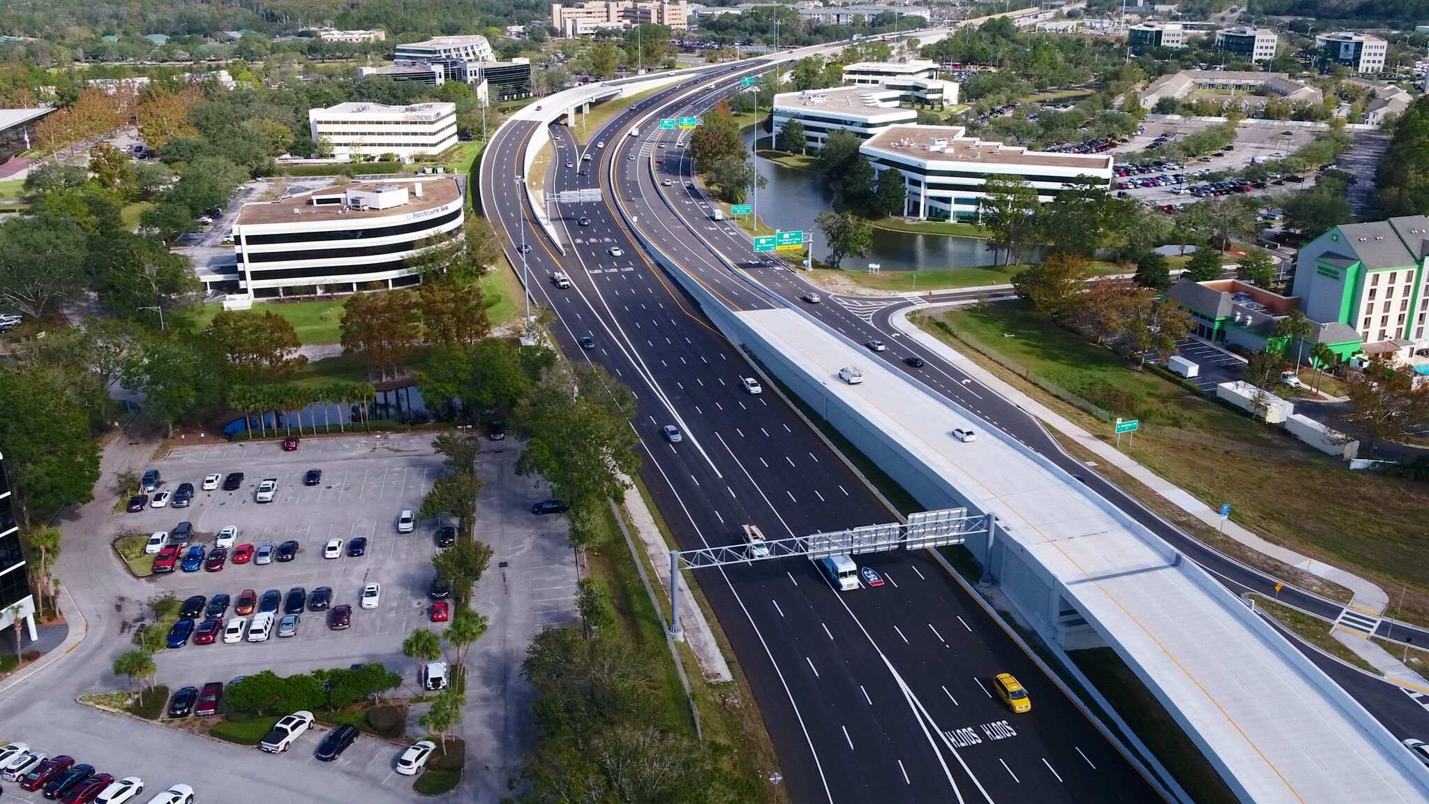 Jacksonville Road Construction Complete on JTB Interchange