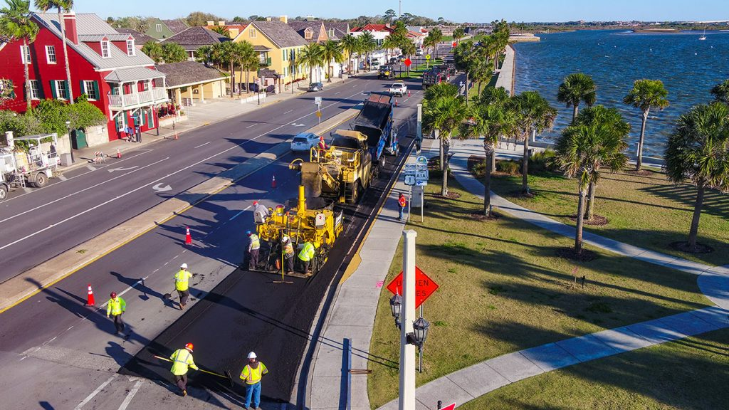 St. Augustine Bayfront Resurfacing